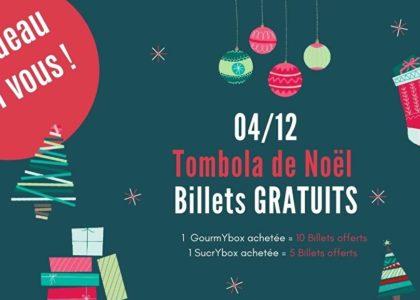 Pour des boxs de Noël achetées,  des billets de tombola offerts !